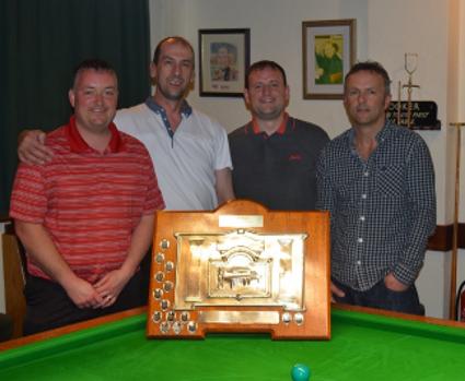 Wayne Cooper, Kevin Firth, Mark Slater & Lewis Walsh